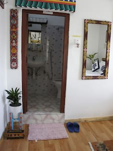 Attached bathroom.