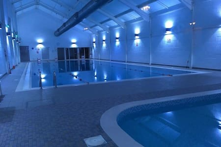 There is disabled access directly into the pool and a winch to allow safe entry to the pool. If booked, we will provide the contact details for the management to discuss arrangements.