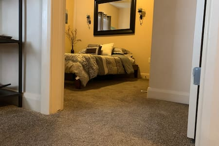 Flat entrance into your bedroom