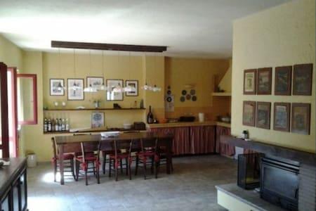 si può accedere alla casa dalla cucina
