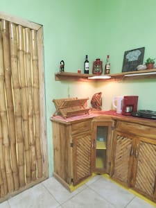 there is a small kitchenette area in the guest room yes is welcome to  prepare their own meals if needed