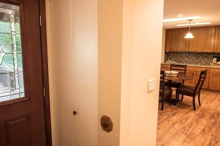 Front Door entry to kitchen