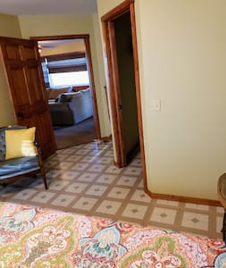 36 inch doorways into the Master bedroom and access to the bathroom as well.