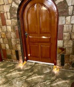 Ground floor Room entrance