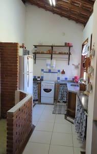 Cozinha integrada sem paredes