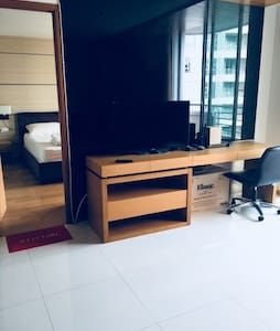Moving from living room to bedroom