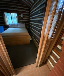 This is the step free entry way into the bedroom.