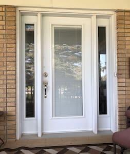 Front door 34inch
