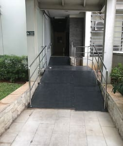 Wheelchair access to swimming pool & Gym at 16th floor