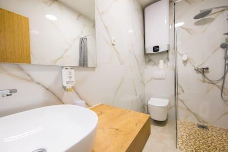 Bezbariérová sprcha