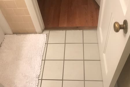 Step less to the bathroom