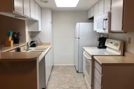 Separate kitchen.