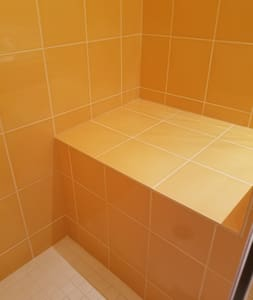 Built-In Shower Seat