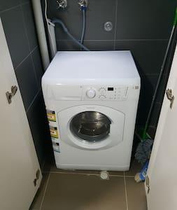 European laundry.