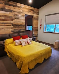 Full size sofa sleeper in loft area upstairs