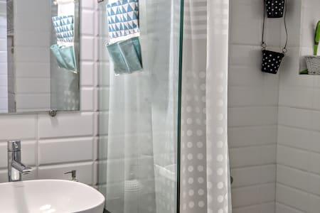 Easily accessible bath cum toilet.