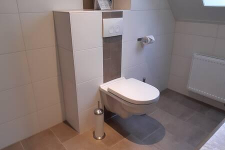 Extra ruimte rondom het toilet