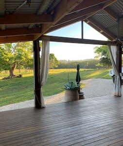 large open deck