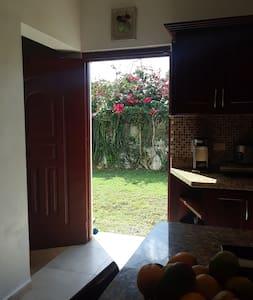 side door entrance kitchen