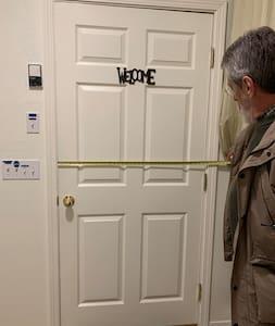 """This is a 36"""" wide door."""