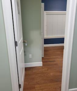 Wide room door entrance