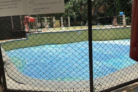 这是浅的小朋友的游泳池