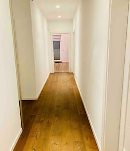 Hallway to bedroom