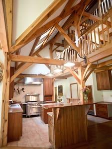 Open Kitchen floorplan and bar area