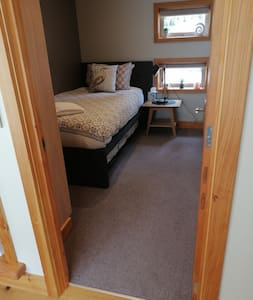 There is seamless entry into the single bedroom.