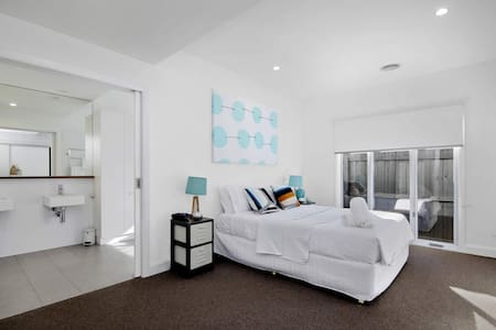 all of the bedrooms have extra-wide doors (sliding doors - mater bedroom 1200 mm and rest of the rooms 820 mm