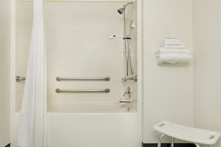 Baignoire avec siège de bain