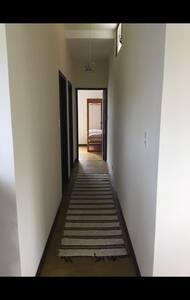 Corredor acesso aos quartos
