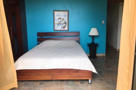 Espaço extra em torno da cama
