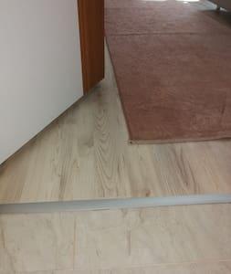 more than 81 cm wide door for entering bedroom 1