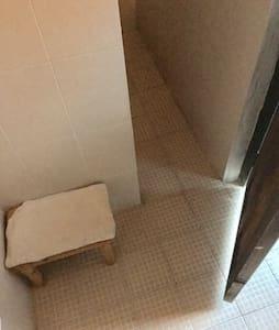 Acceso plano a la ducha