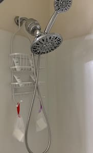 Multi use shower-head