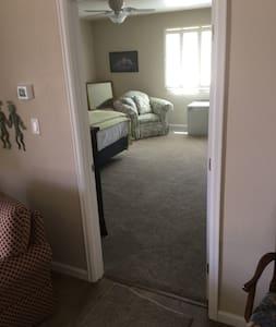 Bedroom door for bedroom #1