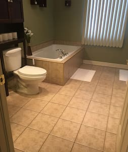 Large space between toilet and door