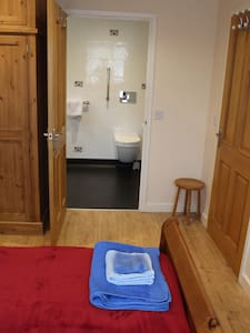 Please note the doorway is only 30 inches wide but will accommodate a small wheelchair