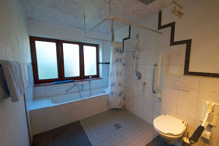 Shower na walang hakbang