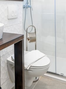 Accessible-height toilet