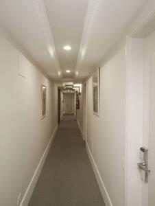 Entrada sin escalones a la habitación