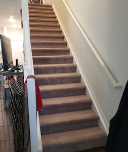 Will have to walk through stairs to get to the room
