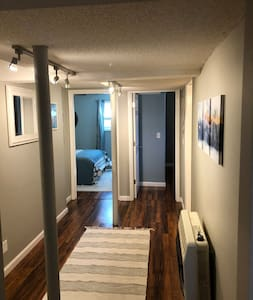 Entrance to bedroom is a flat, clear, wide path.