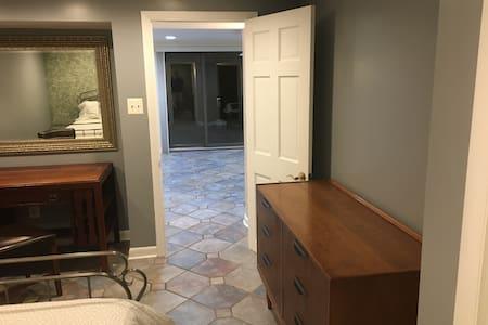 """The bedroom door is a 32"""" wide"""