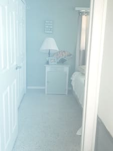 """Every doorway to each bedroom and bathroom 36 to 38"""" in width. Again  This feature is poorly lizabethville with every light on and not reflecting the way my camera takes pictures,AGAIN I WANT ENSURE YOU EVERY ENTRYWAY IS WIDE & ACCESSIBLE!"""