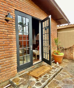 Both French doors are operable