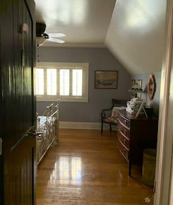 Doorway to Queen bedroom