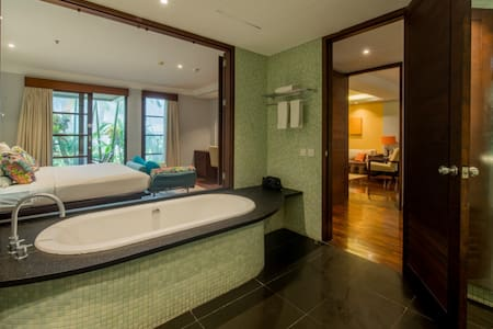 Access from Master bed room to private Bathroom or the other way is 36 inches door wide.