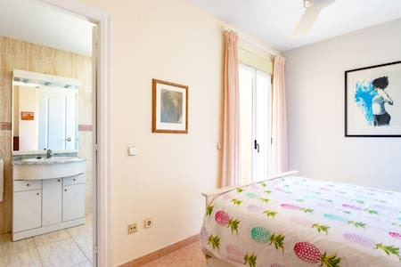 """Entrance to bedroom: 26""""/65cm at narrowest. Doorway off hallway pictured. Doorway to ensuite: 23.5""""/60cm. Small step into shower."""